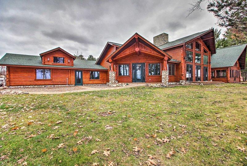 'Ruth Lake Retreat' è la casa vacanza perfetta per una riunione di famiglia!