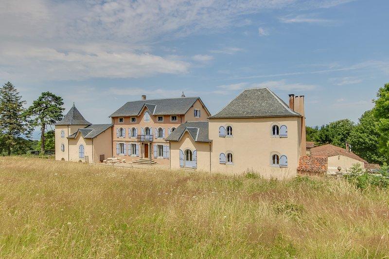 Privé landgoed te huur Massaguel Zuid-Frankrijk, holiday rental in Lacombe