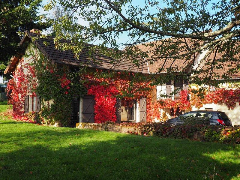 Le Champ du Four, Burgundy, holiday rental in Bois-Sainte-Marie