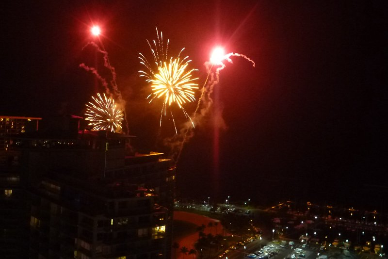 Fireworks every Friday night