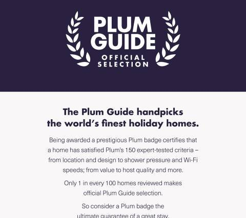 Plum Guide Property!