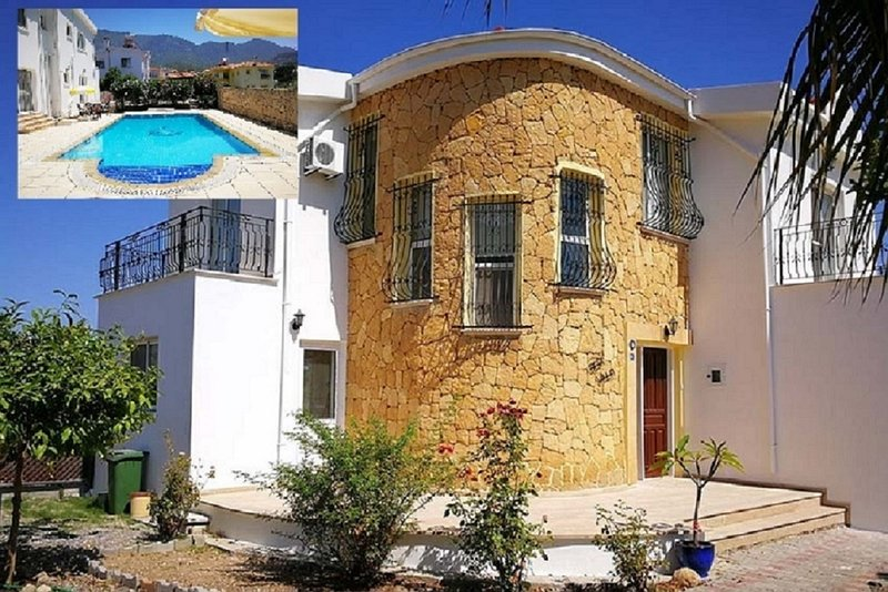 Stunning Spaces 3 Bedroom Villa with 10m x 5m Private Pool, vacation rental in Ozankoy