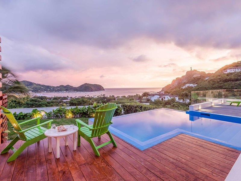 Casa Alegre, Amazing Ocean View House, holiday rental in Balgue