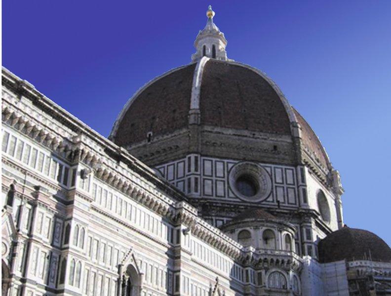 Florença cúpula Brunelleschi detalhe
