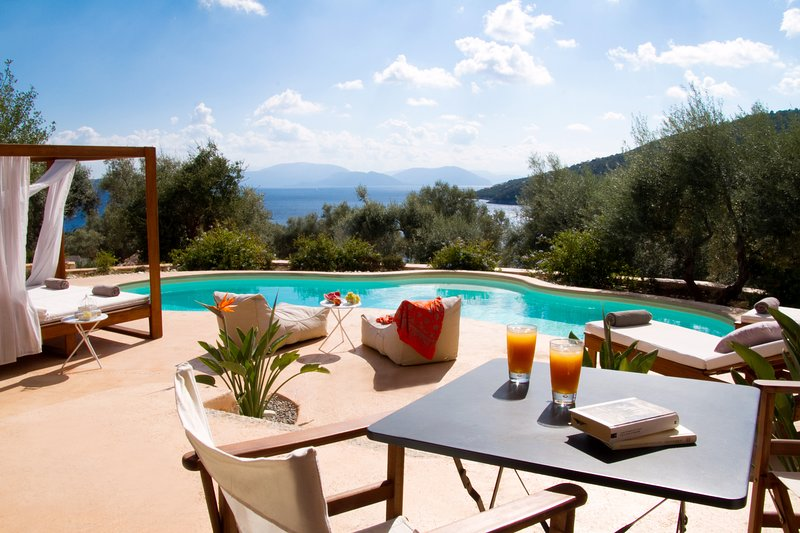 Sea Access - Luxury Amapola Villas - Agapi, location de vacances à Sivota