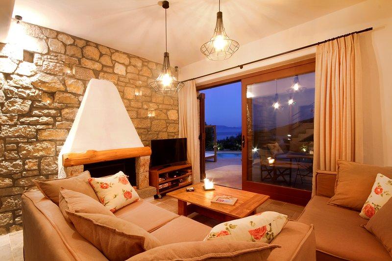 Winter Special Offer - Covid safe stay & Work - Amapola Villas - Villa Agapi, location de vacances à Sivota