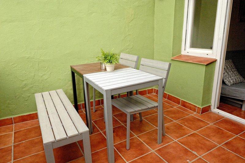 A nice outdoor corner.
