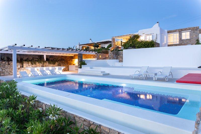Villa Fanari, holiday rental in Faros Armenistis