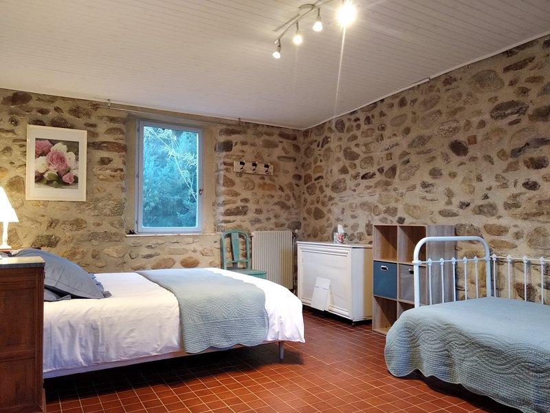 GITES ET CHAMBRE D'HOTES-Gite bleu, vacation rental in Vinca