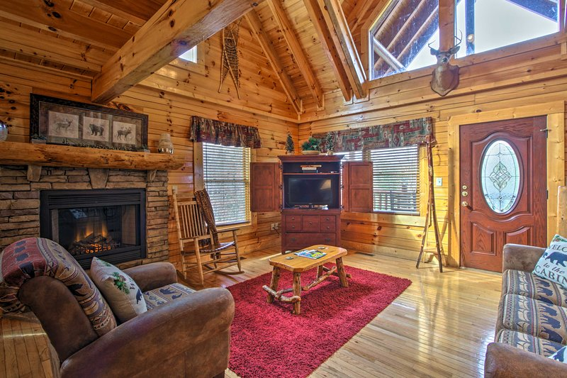 This property is sure to be the cherry on the top of your Sevierville trip!