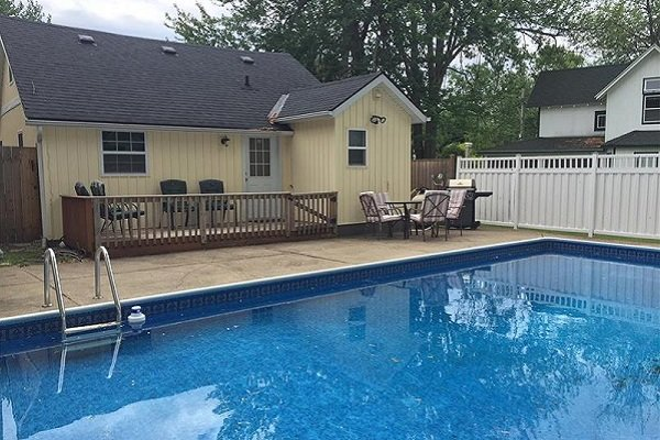 Make a big splash - Happy Daze, holiday rental in Ridgeway