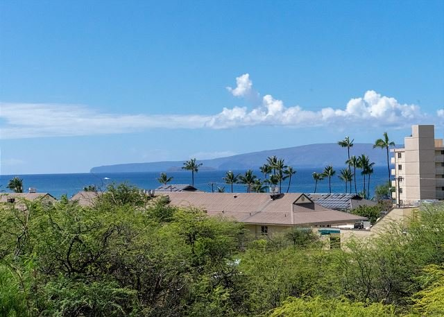 Ocean View from Kihei Alii Kai #B-307