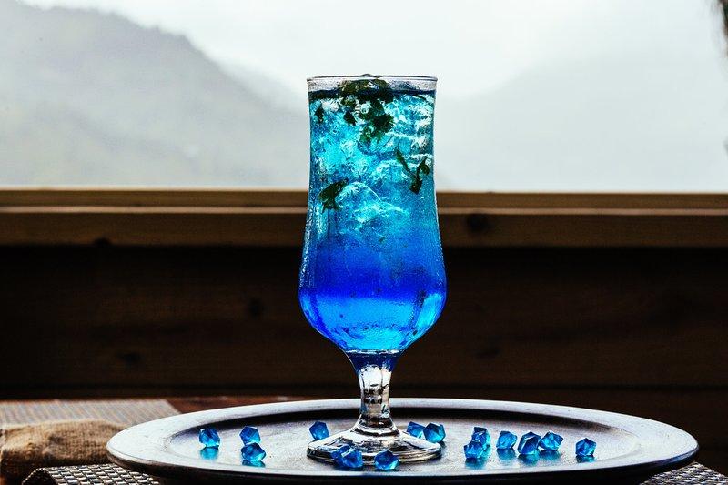 The Rocky Blue Mojito.