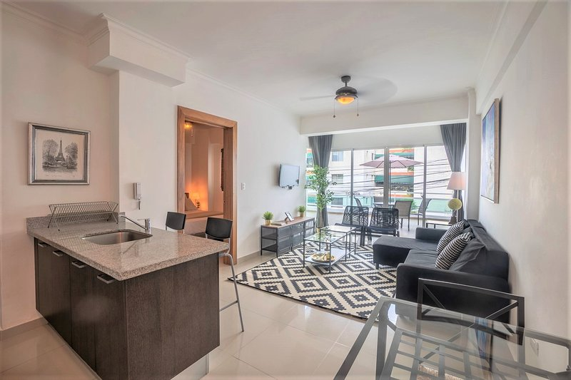 Santo Domingo Downtown Terrace Apartment ✔️, vacation rental in Santo Domingo