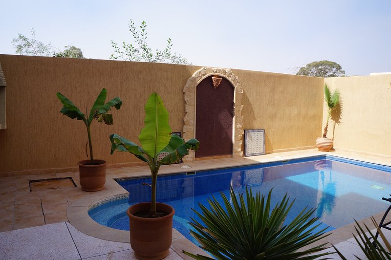 Villa de luxe a la plage, Ferienwohnung in Imi Ouaddar