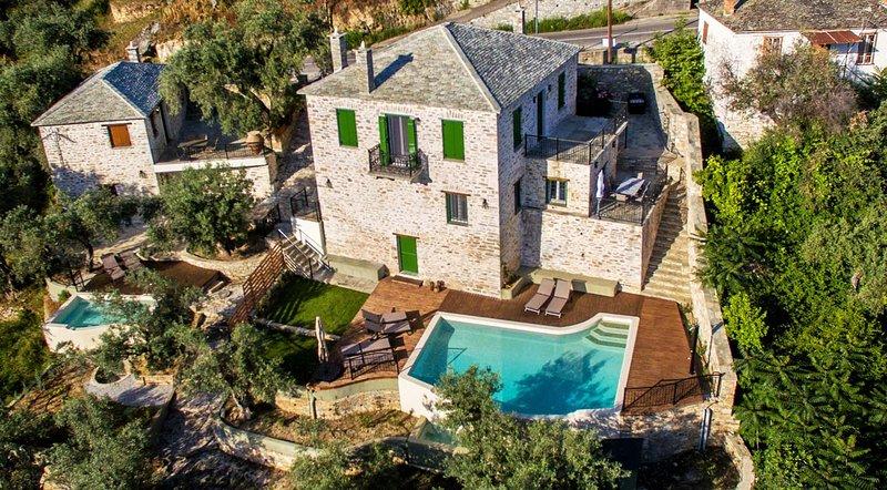 Villa Thalia by Pelion Esties, vacation rental in Milies