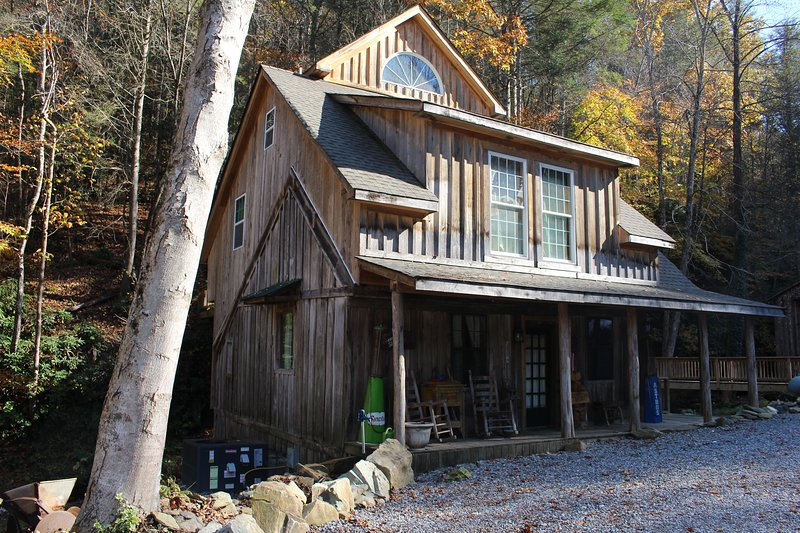 Historic General Store on the river fed from the beautiful MILL HILL FALLS.