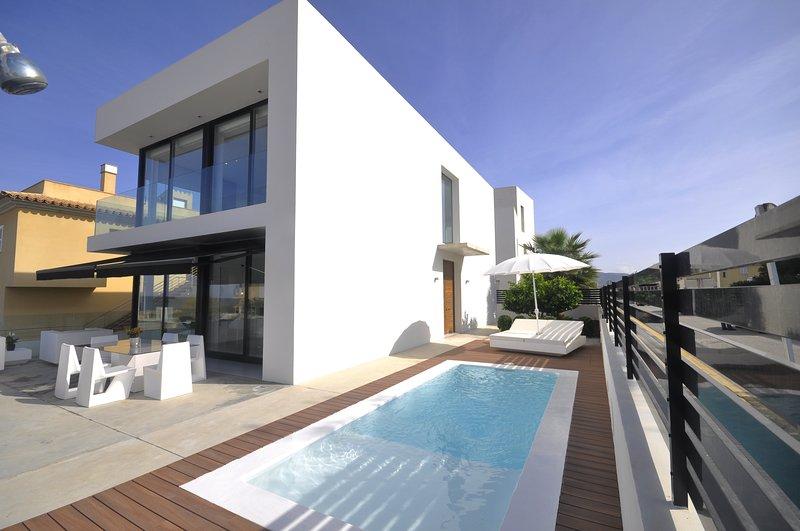 ATZUR - Villa for 6 people in Son Serra de Marina, holiday rental in Son Serra de Marina