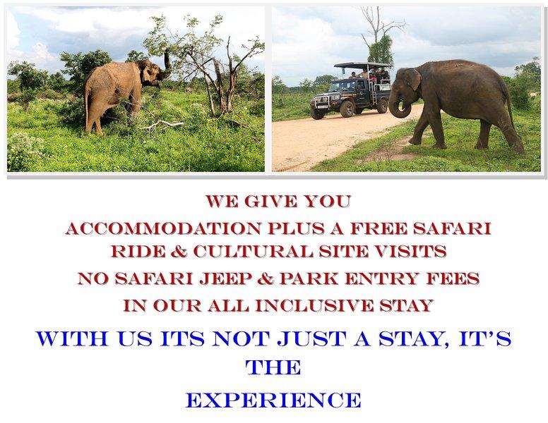 Dev's Campground Tented Safari 5, holiday rental in Embilipitiya
