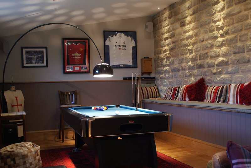 Your own pool table - no extra charge!