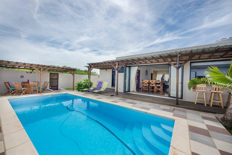 Frangipane Villa, holiday rental in Petit Raffray