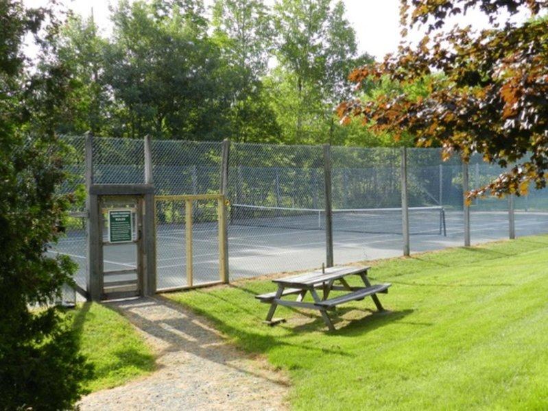 Canchas de tenis compartidas