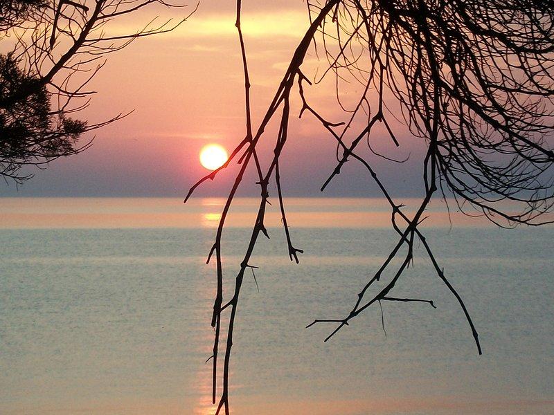 puesta de sol villa ilida