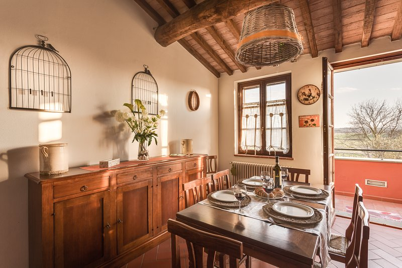 Podere le Rane Felici - Girasoli, holiday rental in Fauglia