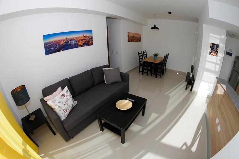 Boca del Mar l - Apartamento Luxury - Balcony - Pool (Ocean View), aluguéis de temporada em Boca Chica