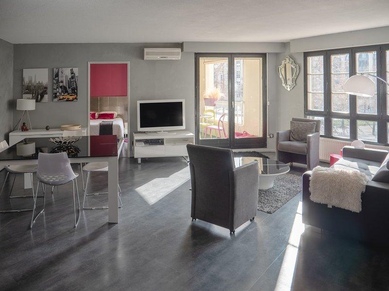 FABULEUX 3P Quartier Antigone 72m2 Piscine olympique Centre ville – semesterbostad i Montpellier