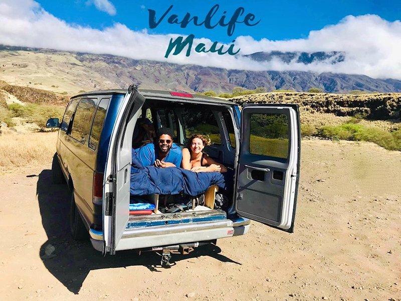 Vanlife Maui Campervan Royal blue - Adventure starts where plans end, alquiler vacacional en Honokowai