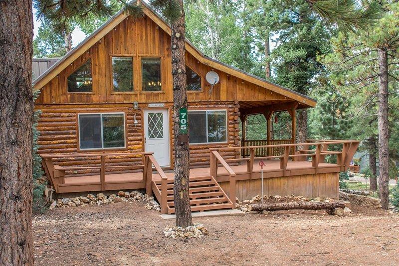 New this fall !!! Duck Creek Cozy Cabin, casa vacanza a Duck Creek Village