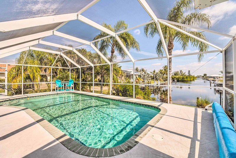 Enjoy a peaceful trip with loved ones at this Punta Gorda vacation rental home!
