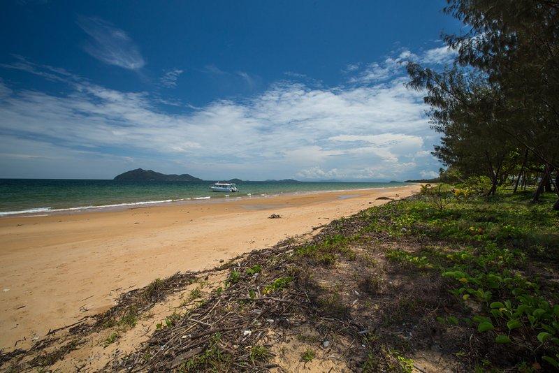 San Roy 3 - Playa de Wongaling mirando hacia el sur