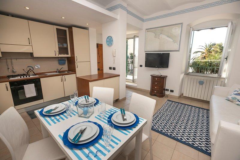 Casa sul mare, vacation rental in Riva Trigoso