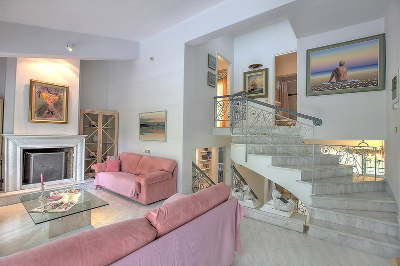 Amazing house with sea view & Wifi, holiday rental in Olympiada