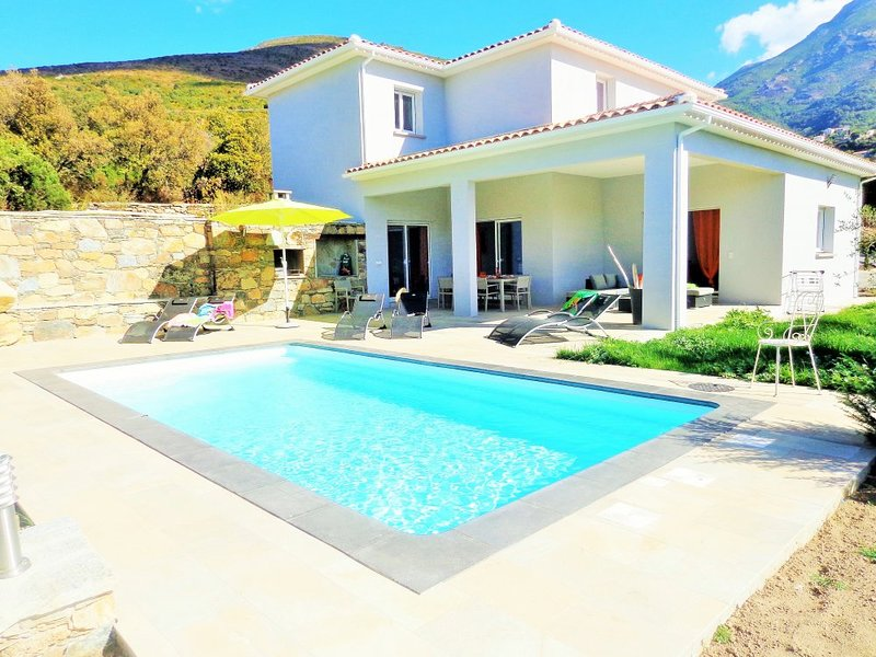 Amazing villa with swimming-pool, holiday rental in Ogliastro