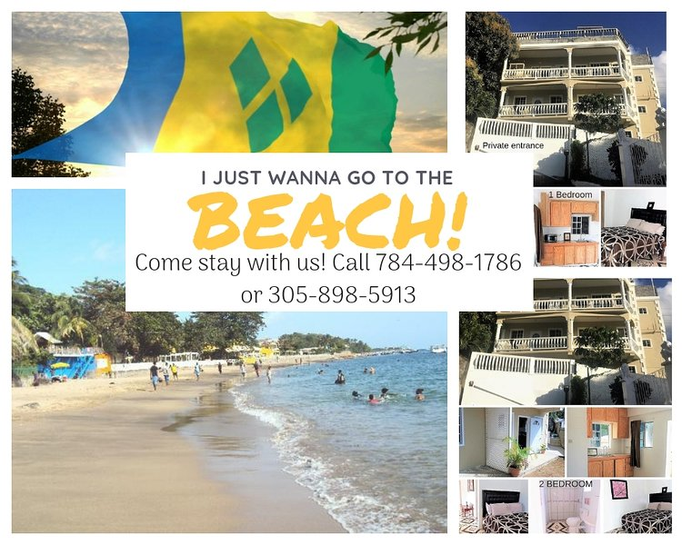 2 bedroom All the comforts of home right downtown Kingstown!, vacation rental in Kingstown