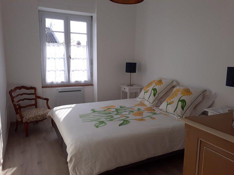 Appartement en centreville a 3.5 kms  de la mer vue sur  le chateau de Talmont, location de vacances à Poiroux