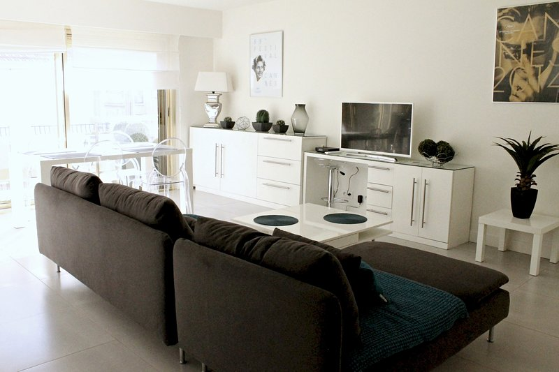 Viva Riviera Modern and Spacious 2 Bedrooms with balconies, vacation rental in Cannes