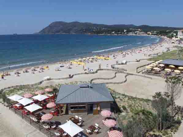 F5 dans maison Marvivo bord plage (150m), holiday rental in Tamaris-sur-Mer
