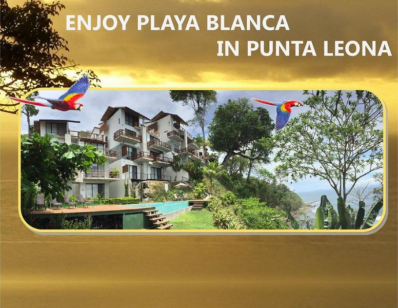 ENJOY ❤️ PLAYA BLANCA IN PUNTA LEONA 3BR CONDO - STUNNING SUNSETS INCLUDED, location de vacances à Punta Leona
