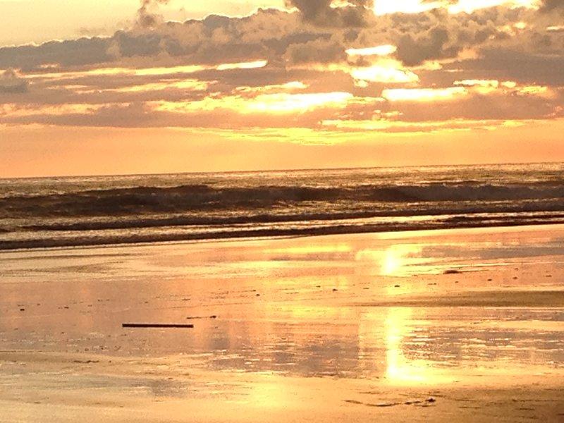 Sunset from Playa Matapalo