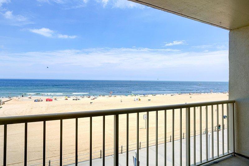 Beach Quarters 1BR Balcón frente al mar