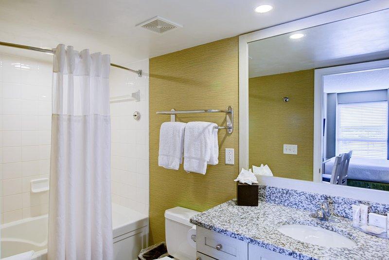 Boardwalk Resorts 2BR Ocean View Bathroom