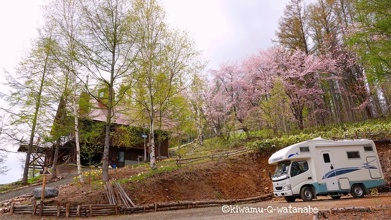 Sakurano Camping Car to rent