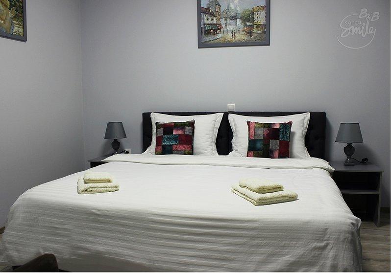 B&BKorcaSmile Green Doubel Room, holiday rental in Korce County