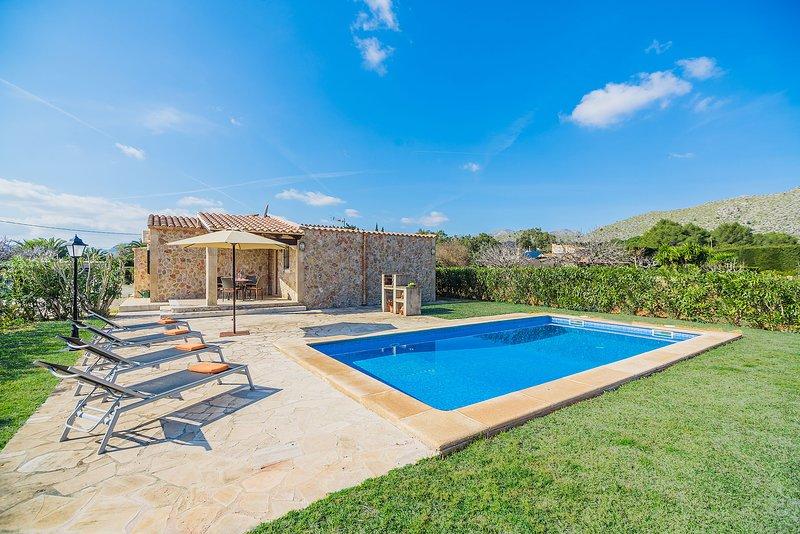 Villa Cati, alquiler de vacaciones en Port de Pollença