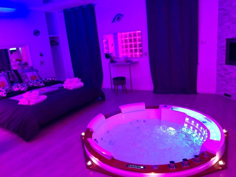 Loft romantique haut de gamme, Ferienwohnung in Danjoutin