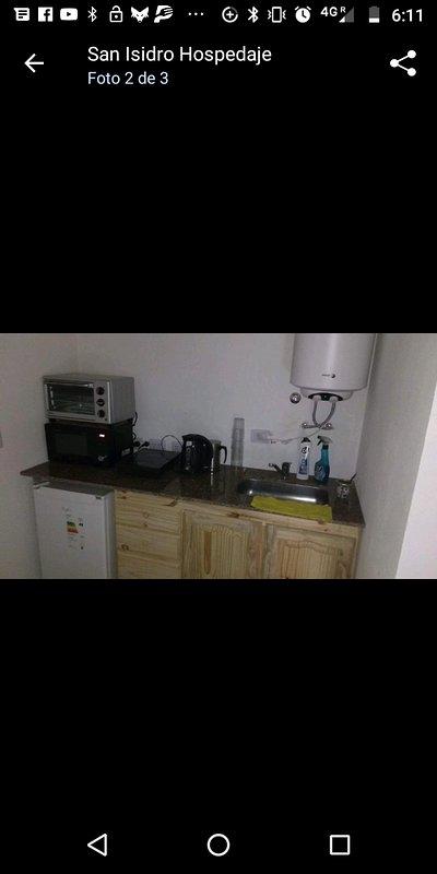 Habitación en casas particulares. Monoambiente totalmente equipado., holiday rental in Olivos